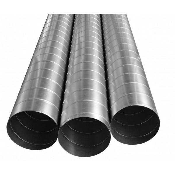 Kovové spiro potrubí