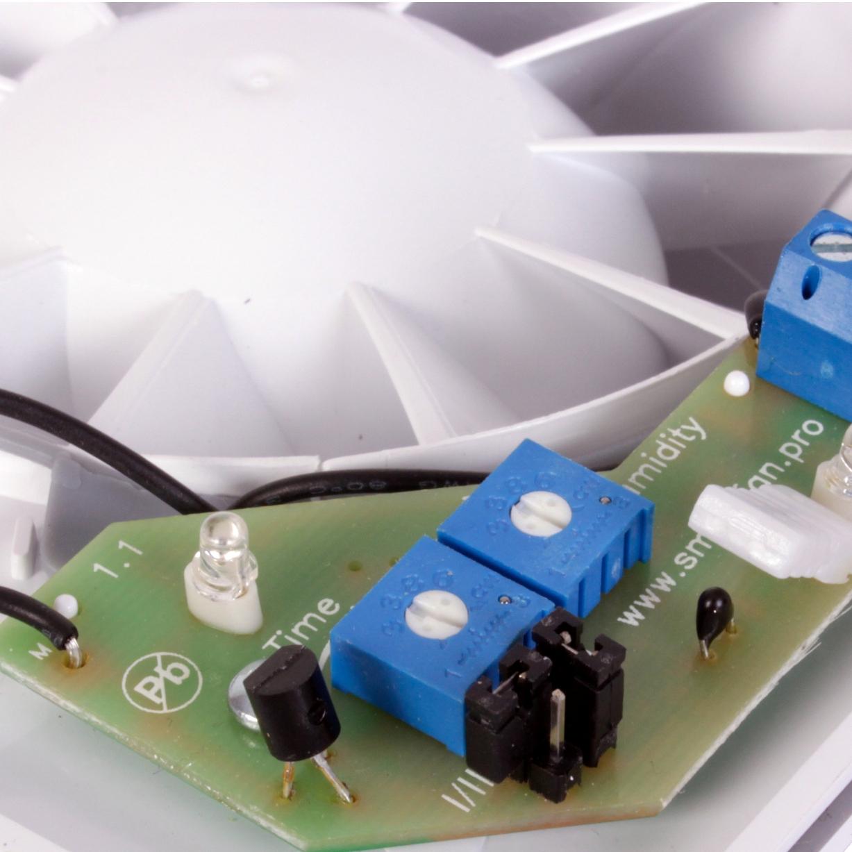 Jumper a jeho nastavení na elektronice ventilátoru