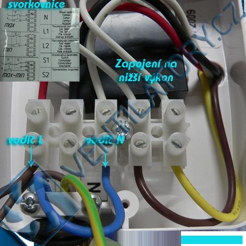 Správné zapojení pvc ventilátoru do potrubí 4