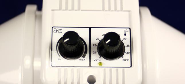 Ovládání modulu u ventilátoru Dalap AP PROFI 100 T