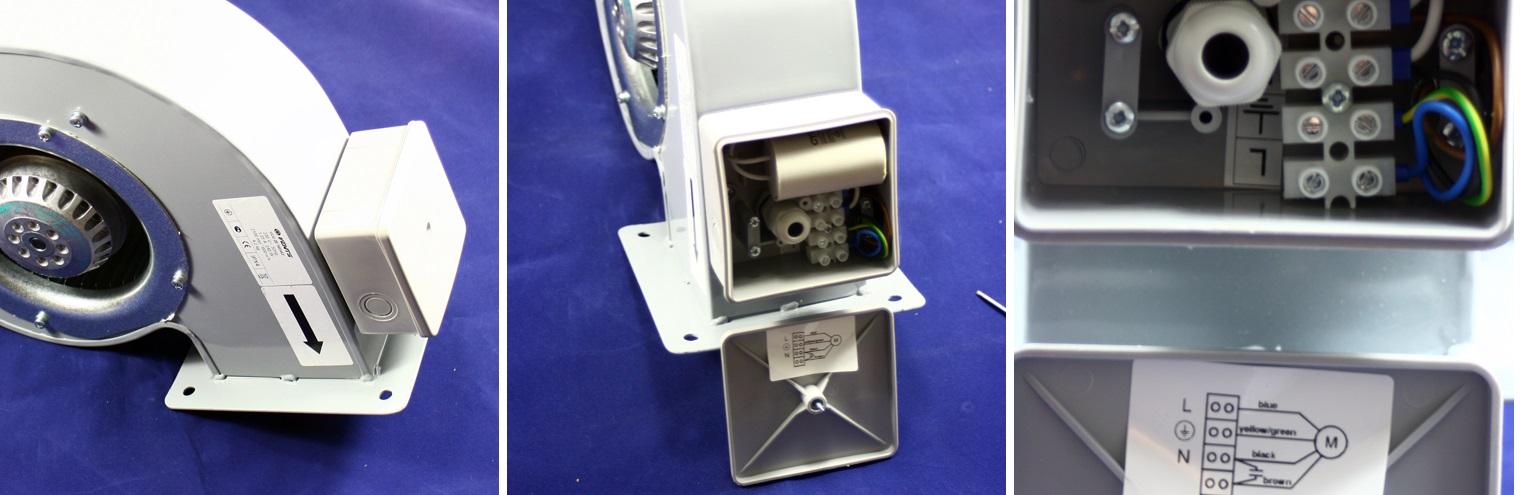Správné zapojení šnekového ventitlátoru Dalap SKT