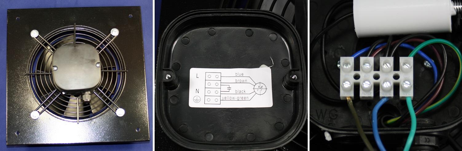 Zapojení průmyslového ventilátoru Dalap RAB TURBO 200