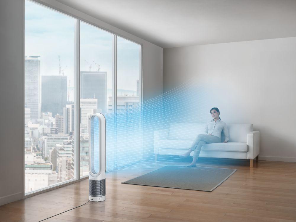 Példák a Dyson Pure Cool Link légtisztító gyakorlati felhasználására