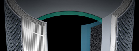 Minőségi szénszűrő a káros gázok és szagok eltávolítására