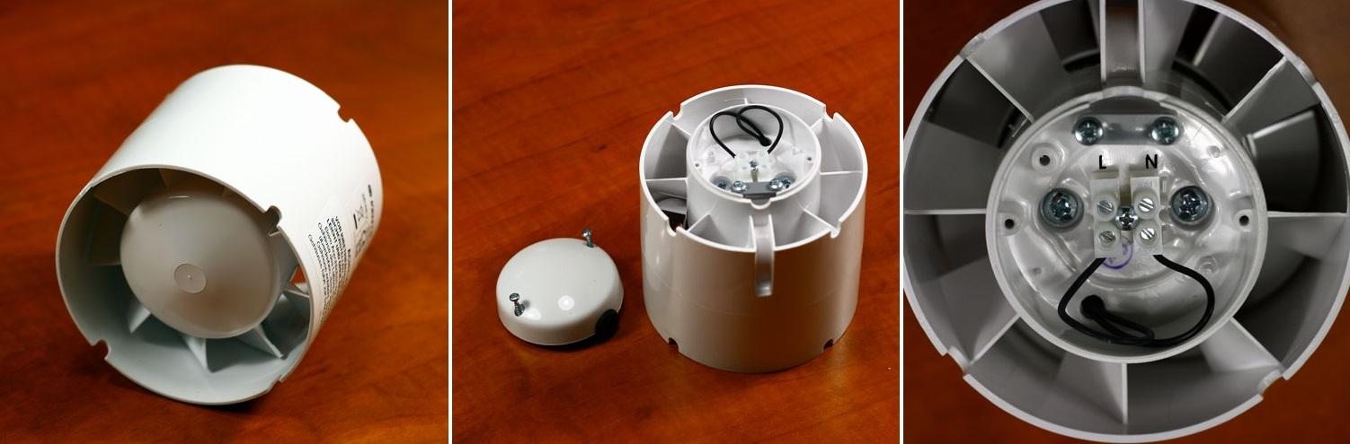 Zapojění potrubního ventilátoru Dalap SD
