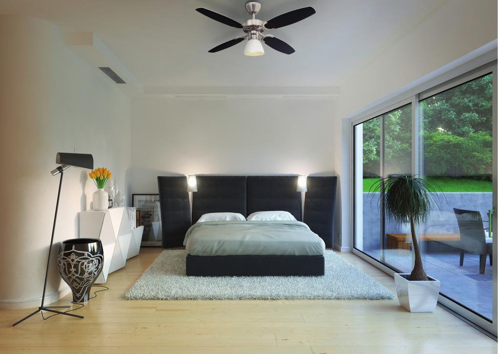 Příklad použití stropního ventilátoru Westinghouse Capitol 78274